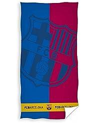 FC Barcelone logo serviette de bain