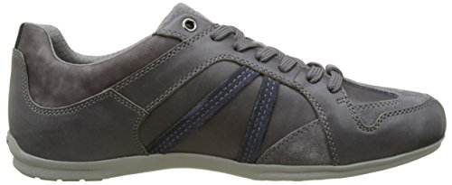 Geox Herren U Houston A Low-Top Grau (Anthracite/lt Navyc9ab4)