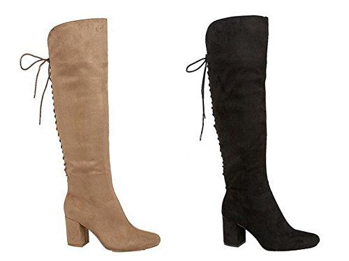 Foster Footwear , Au dessus du genou fille femme Noir