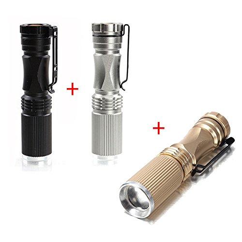Global Meco XPE-Q5 600 Lumen 7W Zoomable LED lampe de poche (contenir 3 couleurs)
