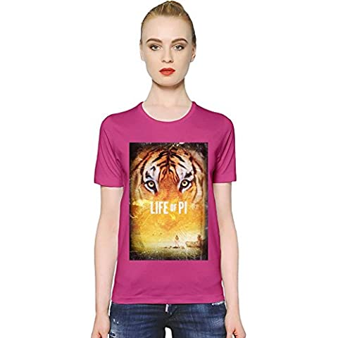 Life Of Pi T-shirt donna Women T-Shirt Girl Ladies Stylish Fashion Fit Custom Apparel By Slick Stuff