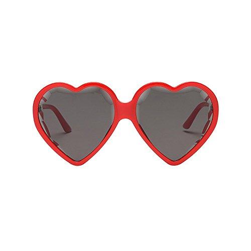 VRTUR Unisex Herz Form Sonnenbrille Sonnenbrillen Sonnen Brille Neonfarben Party favorisiert...