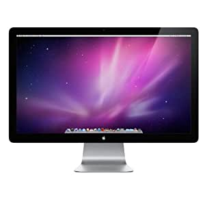 Apple MC007ZM/A 68.6 cm (27 Zoll) LED Cinema Display (LED-Hintergrundbeleuchtung, Mini DisplayPort, Reaktionszeit 12ms, IPS-Technologie)