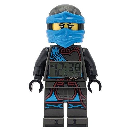 LEGO-Despertador Lego Ninjago Time Twins Nya-azul