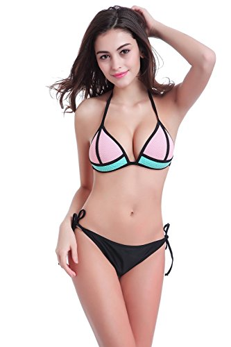 davidlove-color-matching-design-bikini-set-costumi-da-bagno-pink-x-large