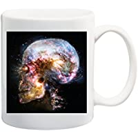 Skull Cosmos Epic – Camiseta Mug