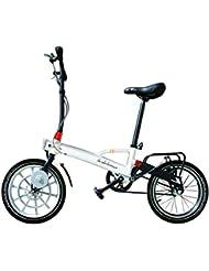Vlec Cycles Pocket+ Vélo Pliant Électrique Mixte Adulte, Blanc