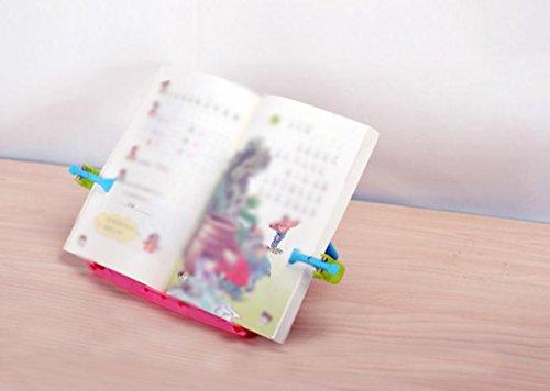 DFHHG® Estantería, Lectura Telescópica Estante Lectura Estante Plegable Aprendizaje Alumno Estantería para niños Mesa de lectura multifuncional Portátil durable