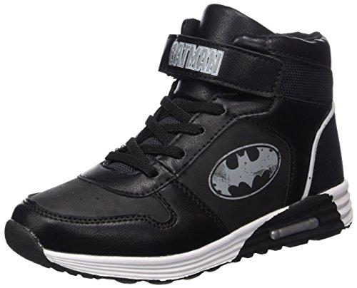Schuhe Batman Herren (Batman Jungen Bat Moris Basketballschuhe, Schwarz (Black), 29)
