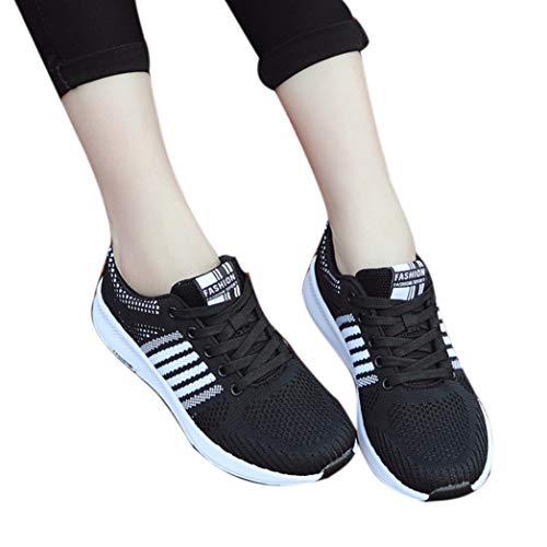 Sneaker Damen Leichtgewicht Laufschuhe Sportschuhe Schüler Turnschuhe Wanderschuhe Laufende Sportschuhe Segeltuchschuhe Lässige Atmungsaktive Schuhe,ABsoar