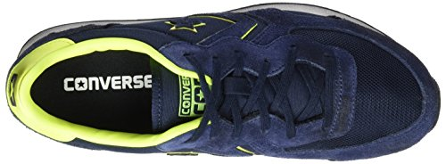 Racer Converse Basse Elettrici Bue Camoscio Sneakers Txt Nero Auckland Blu ossidiana Unisex 1HndwTqHB