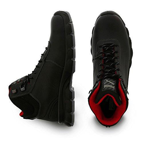 Puma Pioneer Mid S3 Src, Chaussures de Sécurité Mixte Adulte, Taille 40 Noir