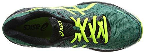 ASICS Gel-nimbus 18 - Scarpe Running Uomo Verde (Pine/Flash Yellow/Black)