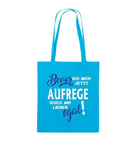 aufrege jetzt egal ich Weiss Farbe mir Bags Weiss lieber Jutebeutel lange Neongrün Bevor Comedy Hellblau Royalblau Schwarz Henkel mich 38x42cm isses 4qwXzHI
