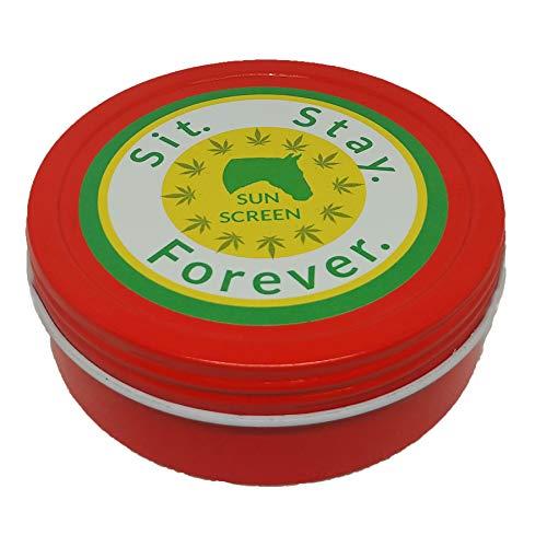 SIT. Stay. Forever. Sicherheit erstes Haustierprodukt, sitzen Stay. Forever Bio-Pferd-Sonnenschutz und Feuchtigkeitspflege, natürlich, 120 ml