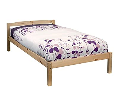 Single Bed Pine 3ft Single Bed Sussex Wooden Frame Sussex - low-cost UK bed store.