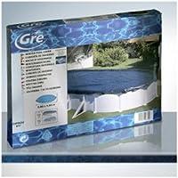 Gre ciprov911- Telo Gre copertura invernale piscine fuori terra ovali 910x470 cm