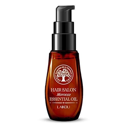 1 x 40 ml/70 ml Marokko-Argan-Öl Haar reines ätherisches flüssiges trockenes Haar Reparatur Kopfhaut Behandlung Haarpflege Haarausfall Produkte braun