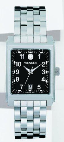 Wenger - 75126 - Montre Femme - Quartz - Analogique - Bracelet Acier inoxydable Argent