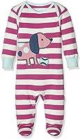 Unbekannt Baby-Mädchen Strampler Sausage Dog Sleepsuit
