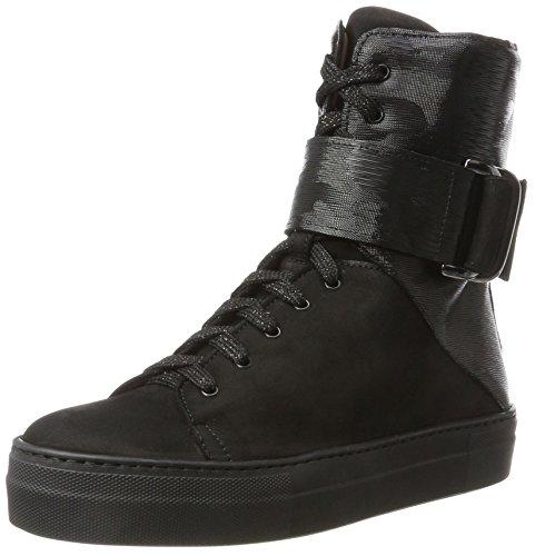 2903-3, Zapatillas Altas para Mujer, Negro (Nero), 35 EU Franco Russo