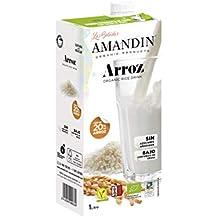 Amandin 400046 Bebida de Arroz, Paquete de 6 (6 x 1000 ml)