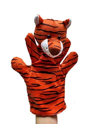 Kuhu Creations® Supreme Imagination Stories Puppet. (MHP Tiger Orange)