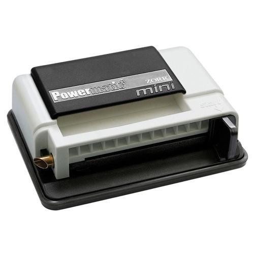 M&M MM 16939 Powermatic Mini Handstopfmaschine Zigarettenstopf-Maschine, Kunststoff, schwarz, 10 x 10 x 5 cm