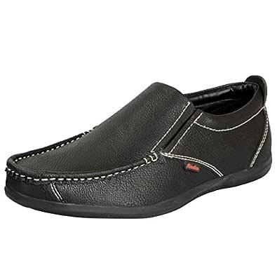 BATA Men's Black Loafers 851-6790-40
