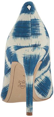 Sam Edelman Hazel, Escarpins Femme Blue/Multi Gingham Print