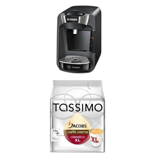 Bosch TAS3202 Tassimo T32 Suny Multi-Getränke-Automat Suny mit Tassimo Jacobs Caffè Crema classico...