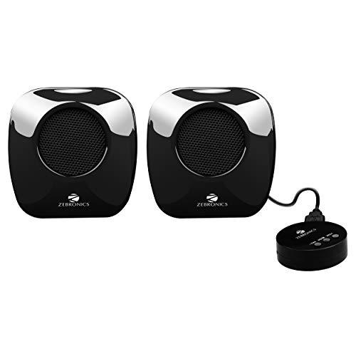 Zebronics Mellow Multimedia Speaker with Volume Control (Black)