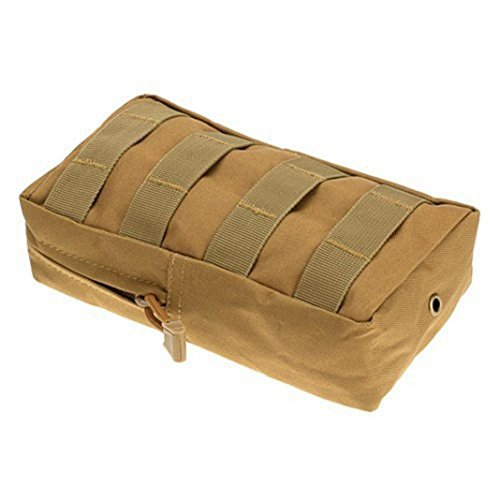 zhouba Sport Tactical Weste Utility Taille Beutel Pack Taille Tasche Jagd Camping Outdoor Khaki