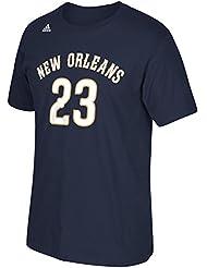 Anthony Davis New Orleans Pelicans Men's NBA Adidas Player Navy T-Shirt