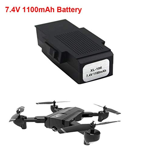 Singular-Point 7.4v 1100mAh Battery Sapre Parts For SG900 GPS RC Quadcopter Drone (bk)