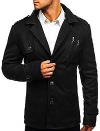 BOLF Herren Mantel Wintermantel Wärme Kurzmantel Winterjacke Coat Elegant  4D4 8a4db097a4
