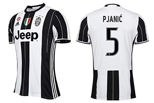 Juventus Turin Trikot Kinder 2016-2017 Home CS - Pjanic 5 (152)