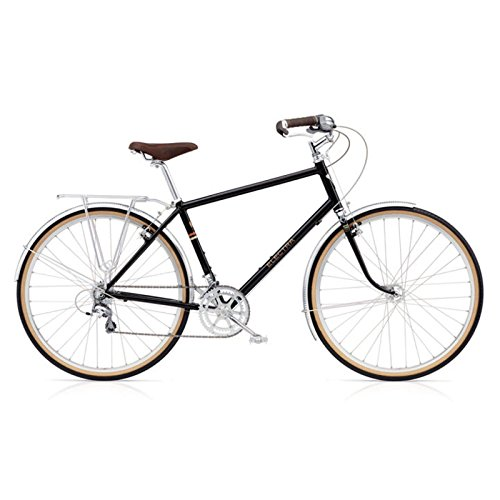 Electra Ticino 20D Regular Herren Fahrrad Schwarz TRK City Stadt Rad Retro Mens, 194043