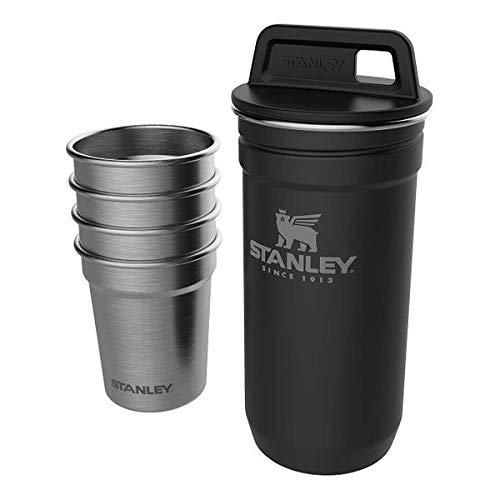Stanley Adventure Shot Glass Set - 4 Becher mit Edelstahlbehälter