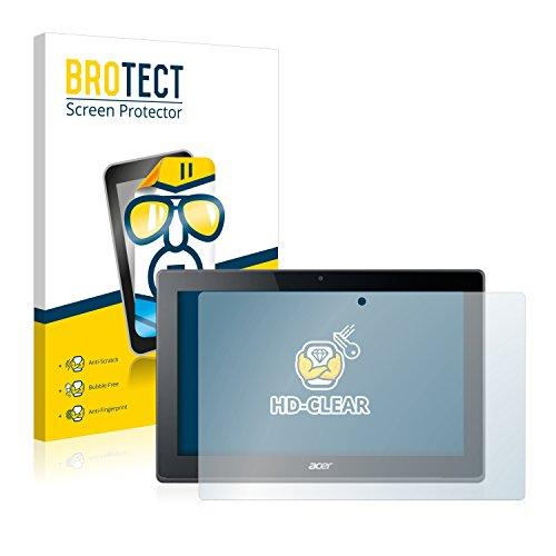BROTECT Schutzfolie kompatibel mit Acer Aspire Switch 11 V [2er Pack] klare Bildschirmschutz-Folie