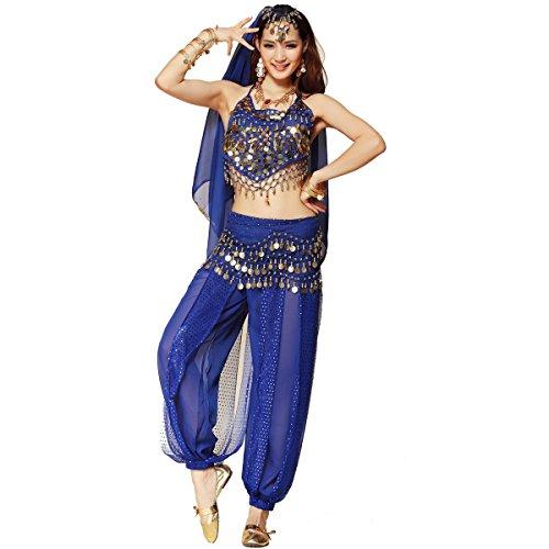 Aladdin Kostüm Besten - Bauchtanz-Kostüm-Set für Frauen