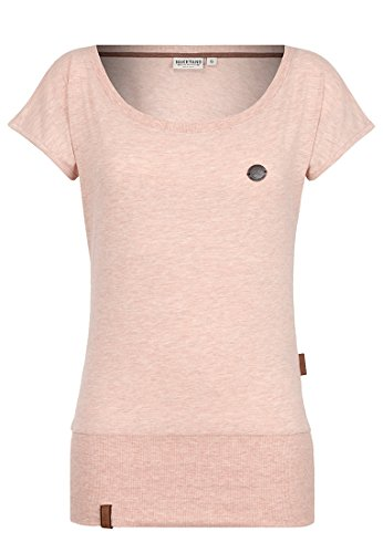 Naketano Female Shortsleeve Wolle Pastel Pink Melange, M (T-shirt Damen-pink Reinigen)