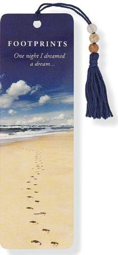 Footprints Beaded Bookmark par Peter Pauper Press