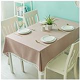 SMC Tischdecke für Couchtisch/Klaviertisch, modern, Rosa, 9 Stück, Baumwolle und Bettzeug, Rose, 120X120CM