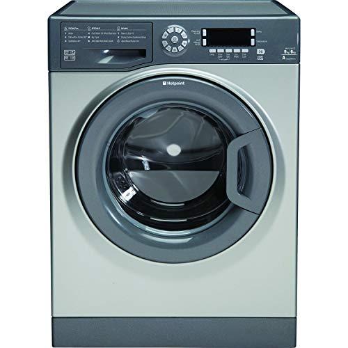 Hotpoint FDD9640G 9kg 1400rpm Freestanding Washer Dryer - Graphite