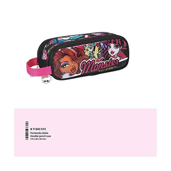 Safta Monster High – Portatodo Doble 811343513
