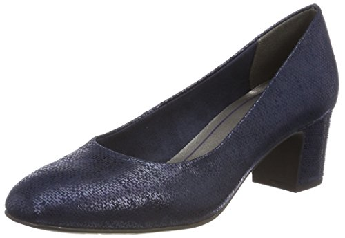 Marco Tozzi 22426, Zapatos Tacón Mujer, Azul Navy