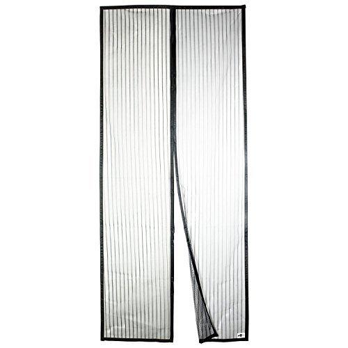 Apalus Magnet Fliegengitter Tür Insektenschutz 100x210cm, Der Magnetvorhang ist Ideal für die Balkontür, Kellertür Und Terrassentür, Kinderleichte Klebemontage Ohne Bohren (Nicht Kürzbar)