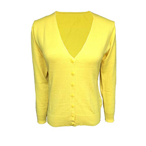 HIDOUYAL Cardigan for Women's (Gelb, M)