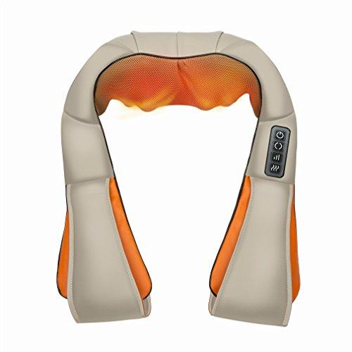Nacken- und Schultermassage Schal Hals Kneten Massage Schal W?rmebehandlung Therapie Instrument Infrarot-therapie, Hand-draht,EIN,41 * 17 * 50cm